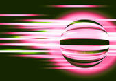 Abstract background with circles and lines motion — Stock Photo