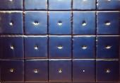 Square leather — Fotografia Stock
