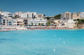 Otranto town in Puglia Italy — Stock Photo