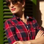 Hot brunette woman — Stock Photo #64791471