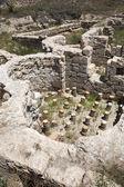 Bath house of Sobesos ancieny city, Nevsehir, Turkey — Stock Photo