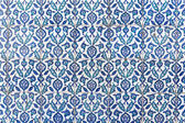 Tiles of walls of New mosque in Fatih, Istanbul — Stock Photo