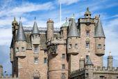 View of Glamis Castle, Scotland — Stock Photo