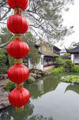 Master of the Nets Garden in Suzhou, China — Stock Photo