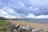 The Aberdeen beach in Scotland, United Kingdom — Stock Photo