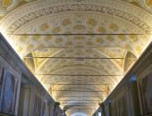 Vatican Museum ceiling, Italy — Stock Photo