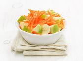Vegetable fruit salad in bowl — Стоковое фото