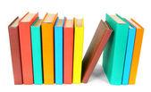 Çok renkli bir kitap. Beyaz arka plan üzerinde. — Stok fotoğraf