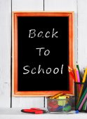 Back to school. Frame. School tools . — Φωτογραφία Αρχείου