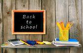 Back to school. School accessories. — Stock Photo