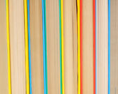 Background from multi-coloured books. — Stock Photo