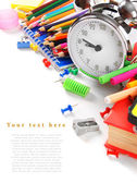 School tools and accessories . — Stock Photo