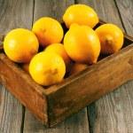 ������, ������: Box with lemons