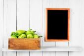 Pepper in a box — Stock Photo