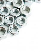 Metalwork. Metal fixture on a white background. — Stock Photo