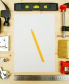 The working tools . For the work . — Stock Photo