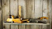 De instrumenten. Voor het werk . — Stockfoto