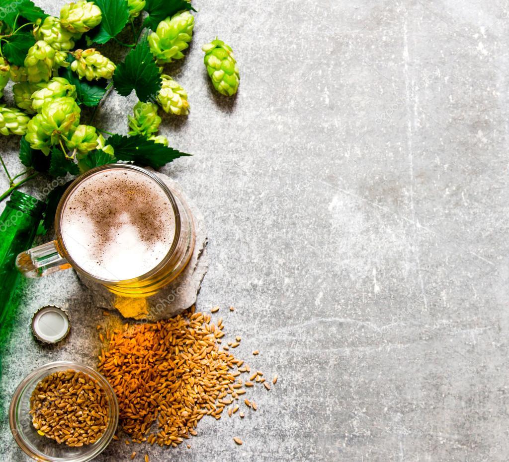 Пиво из зеленого солода своими руками