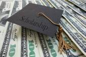 Scholarship money — Stock Photo