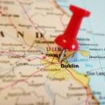 Dublin map — Stock Photo #59761819