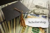 Scholarship note — Stock Photo