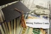 Tuition headlines — Stock Photo