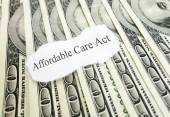 Affordable Care Act money — Stock Photo