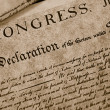 The Declaration of Independence — Stock Photo #70291057