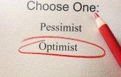 Optimist red circle — Stock Photo