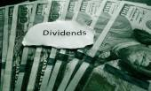 Dividends payment — Stock Photo