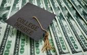 College Degree money — Stock Photo