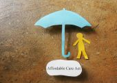 Affordable Care Act health insurance — Stock Photo