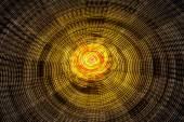 Rotating ferris wheel motion blur — Stock Photo