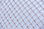 Frosted net — Stock Photo