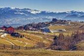 Pestera village, Romania — Stock Photo
