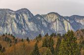 Postavaru mountains range — Stock Photo