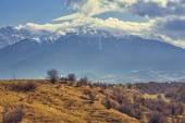 Bucegi mountains vernal landscape — Stock Photo