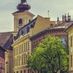 The Huet Square, Sibiu, Romania — Stock Photo #72669353