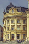 The Great Square and the City Hall, Sibiu, Romania — Stock Photo
