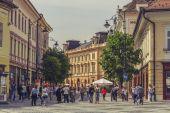 The Great Square, Sibiu, Romania — Stock Photo