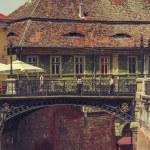 Bridge of lies, Sibiu, Romania — Stock Photo #72706305