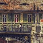Bridge of lies, Sibiu, Romania — Stock Photo #72706293