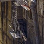Dam hydraulic mechanism detail — Stock Photo #80651566