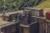 Comportas da barragem — Fotografia Stock