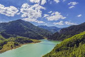 Clear mountain lake — Stock Photo