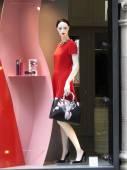 Frau Schaufensterfigur — Stockfoto
