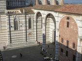 Siena, centro de la ciudad — Foto de Stock