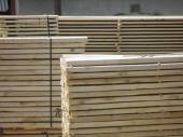 Postes de madera — Foto de Stock