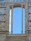 Siena, new cathedral window — Stock Photo