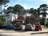 Pinamar beach centre — Stock Photo